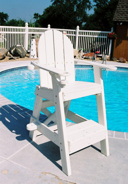 Miraculous Tailwind Furniture Recycled Plastic Small Lifeguard Chair Lg 505 Seat Height 30 Lead Time To Ship 1 To 3 Weeks Andrewgaddart Wooden Chair Designs For Living Room Andrewgaddartcom