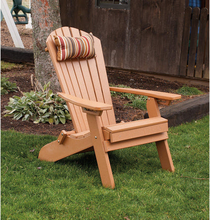 Au0026L Furniture Co. Folding Reclining Recycled Plastic Adirondack Chair W/  Pullout Ottoman   Ships FREE In 5 7 Business Days   Rocking Furniture
