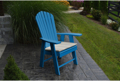 Outdoor Al Furniture Co Poly Upright Adirondack Chair Rocking