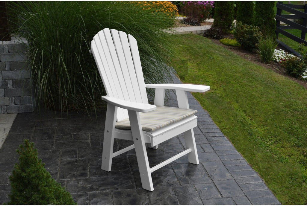 Outdoor Au0026L Furniture Co. Poly Upright Adirondack Chair   Rocking Furniture