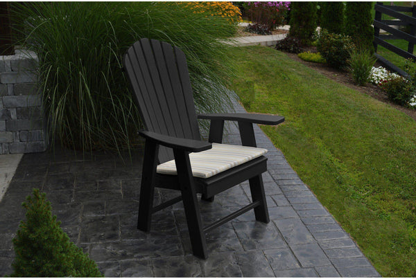 Outdoor A Amp L Furniture Co Poly Upright Adirondack Chair