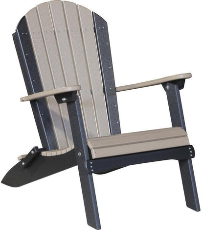 Charmant LuxCraft Recycled Plastic Folding Adirondack Chair   Rocking Furniture