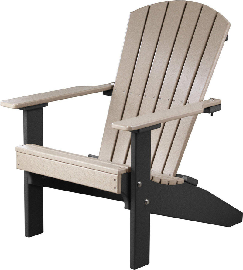 LuxCraft Recycled Plastic Lakeside Adirondack Chair - Rocking ...