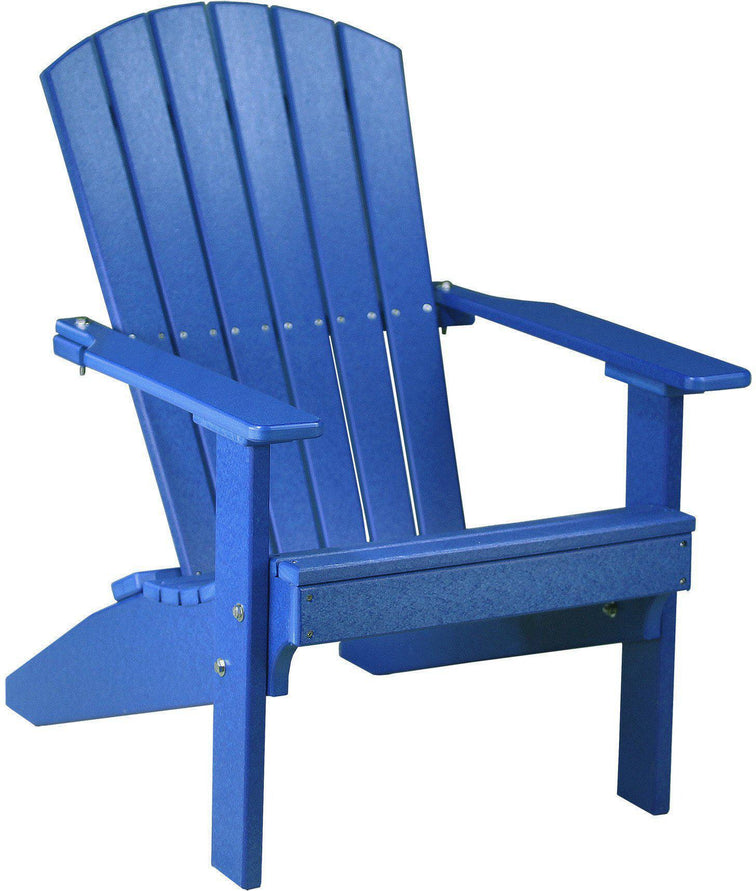 LuxCraft Adirondack Chair Recycled Plastic Lakeside Model - Rocking  Furniture