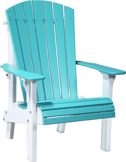 LuxCraft Upright Adirondack Chair With Elevated Seat Height.   Rocking  Furniture
