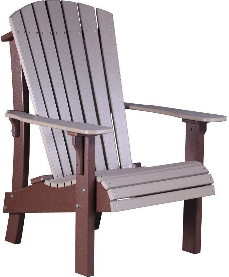 LuxCraft Recycled Plastic Royal Adirondack Chair - Rocking Furniture