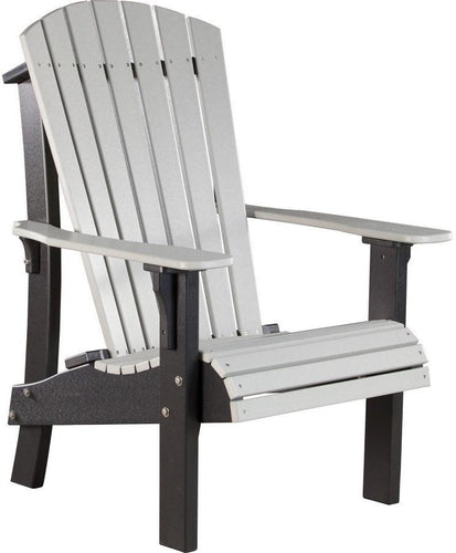 LuxCraft Recycled Plastic Senior Height Royal Adirondack Chair   Rocking  Furniture