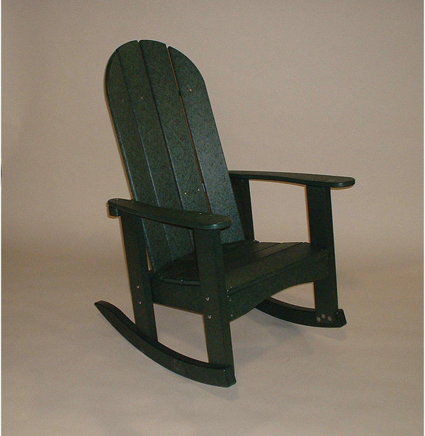 Tailwind Recycled Plastic Adirondack Rocking Chair