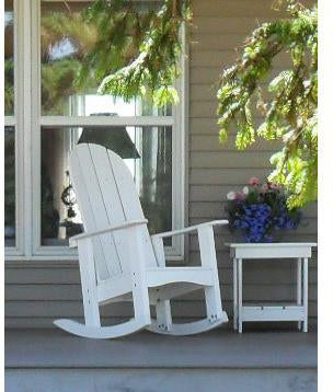 Tailwind Furniture Recycled Plastic Round Back Rocking Chair From