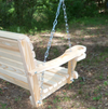 LA Swings Inc. 7ft Cypress Rollback Porch Swing - Lead Time 4 Weeks