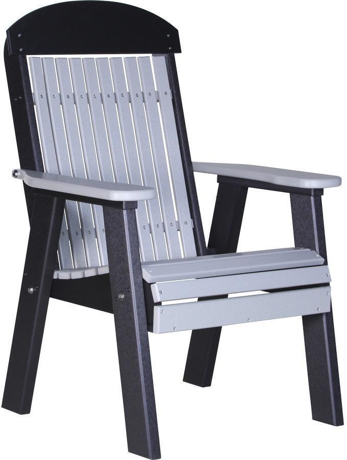 Luxcraft classic highback recycled plastic 2ft chair rocking furniture - Luxcraft fine outdoor furniture ...