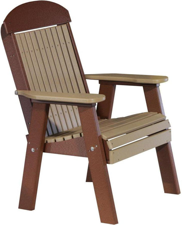 Awesome LuxCraft Classic Highback Recycled Plastic 2ft Chair   Rocking Furniture