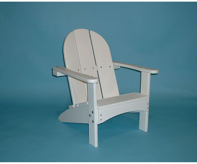 tailwind recycled plastic kids adirondack chair. Black Bedroom Furniture Sets. Home Design Ideas