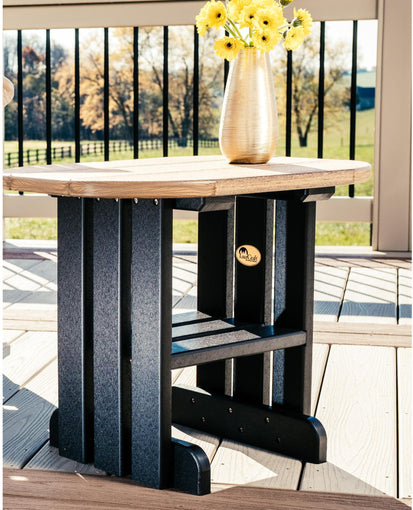 Pleasing Luxcraft Recycled Plastic End Table Dailytribune Chair Design For Home Dailytribuneorg