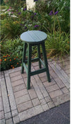 "A & L Furniture Recycled Plastic 3 Piece Bar Set with 33"" Round Table  - Ships FREE in 5-7 Business days - Rocking Furniture"