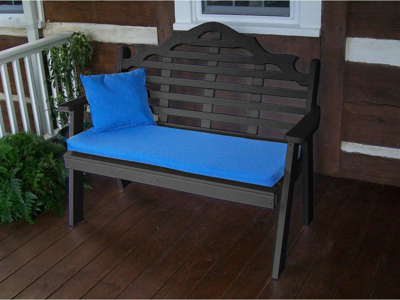 A L Furniture Co Poly 4 39 Marlboro Garden Bench Rocking Furniture