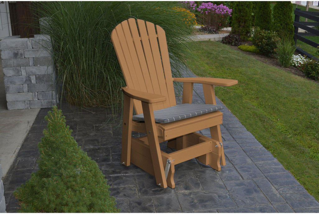 Poly Adirondack Glider Chair