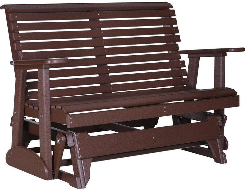 Luxcraft Rollback Recycled Plastic 4ft Patio Glider