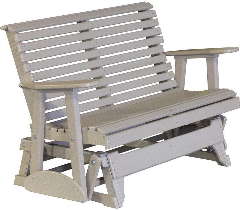 LuxCraft Rollback Recycled Plastic 4ft. Patio Glider   Rocking Furniture    LuxCraft Rollback 4ft.
