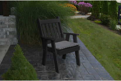 A&L Furniture Company Recycled Plastic Traditional English Dining Chair -  Ships FREE in 5-7 Business days