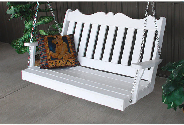 Shop Amish Made Porch Swings Made With Recycled Plastic Rocking