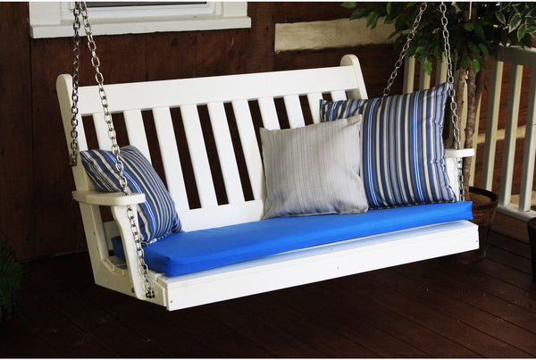 A Amp L Furniture Co 4ft Porch Swing Recycled Plastic
