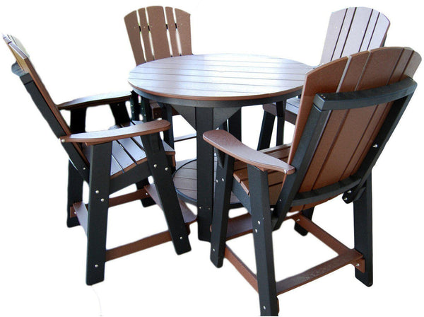 Outdoor Wildridge Recycled Plastic Heritage 5pc Pub Table