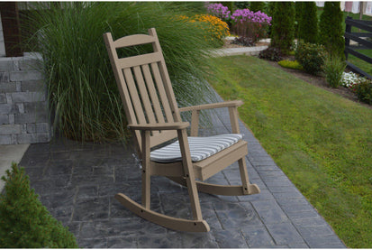 Sensational Al Furniture Company Classic Recycled Plastic Porch Rocking Chair Ships Free In 5 7 Business Days Ibusinesslaw Wood Chair Design Ideas Ibusinesslaworg