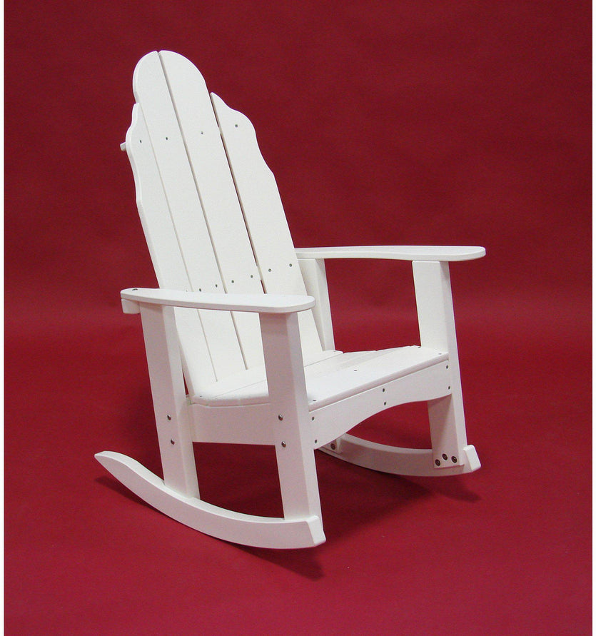 Tailwind Recycled Plastic Adirondack Rocking Chair - Rocking Furniture