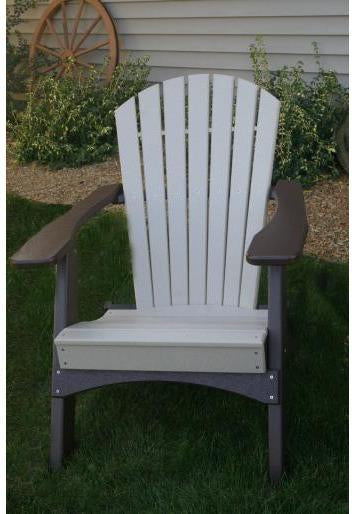 Perfect Choice Outdoor Furniture Adirondack Dining Chair Ships