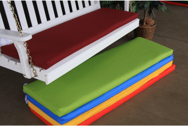 Seat Cushion   Au0026L Furniture Co. 55 X 17 Outdoor Cushion For Benches And  Porch