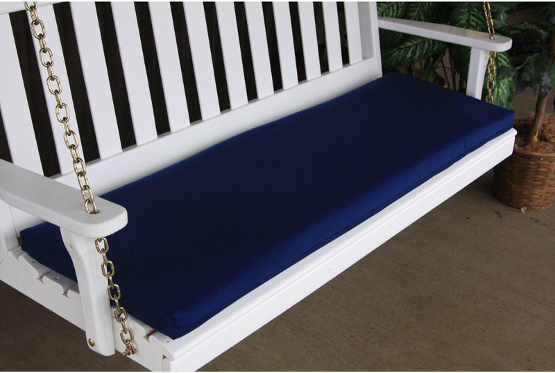 55 x 17 outdoor cushion for benches and porch