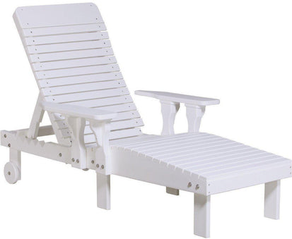 Sale  sc 1 st  Rocking Furniture & LuxCraft Outdoor Lounge Chair Recycled Plastic Model - Rocking Furniture