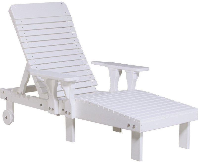 LuxCraft Recycled Plastic Lounge Chair   Rocking Furniture