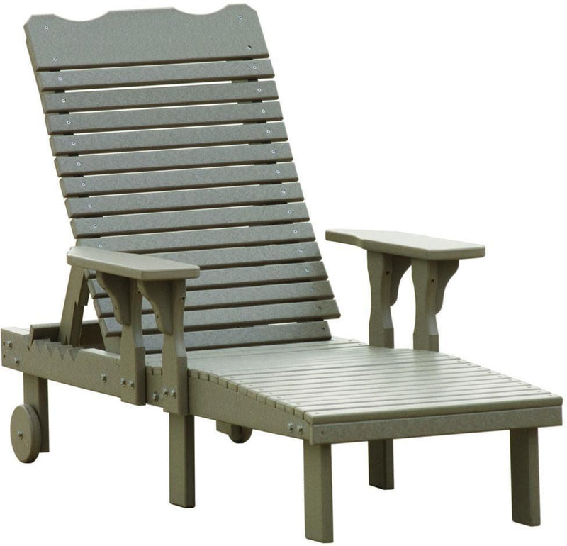 Luxcraft lounge chair recycled plastic model rocking for Pvc pipe lounge chair