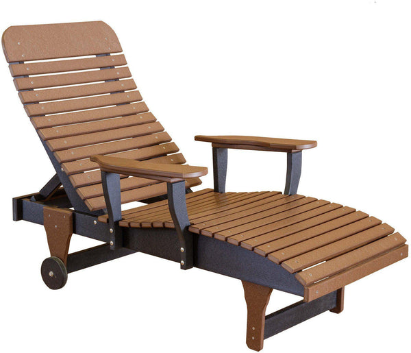 Wildridge Outdoor Recycled Plastic Chaise Lounge Chair