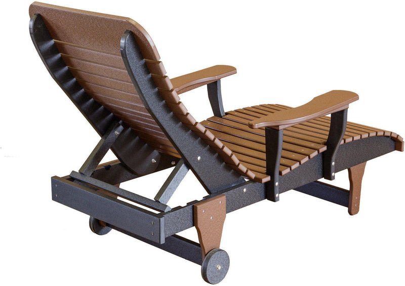 Wildridge Outdoor Recycled Plastic Chaise Lounge Chair ...