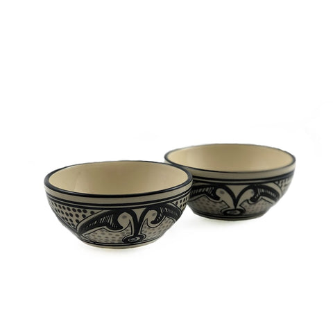 Bigo Hand-Painted Tunisian Bowl (Set of 2)