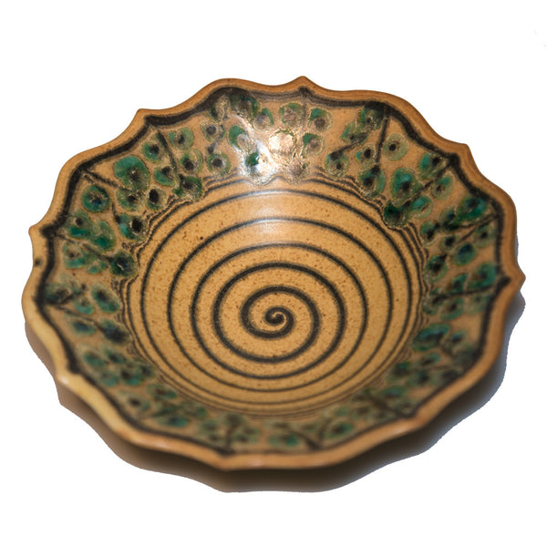 Jana Pattern Ceramic Bowl