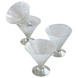 Pippa Handblown Glass Cocktail Glasses (set of four)