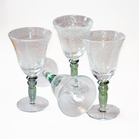 Prairie Green Recycled Glass (set of four)