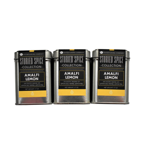 Amalfi Lemon Seasoning (1 Tin) | EC Storied Spices