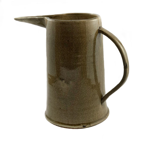 Tampa Rustic Ceramic Water Pitcher and Vase