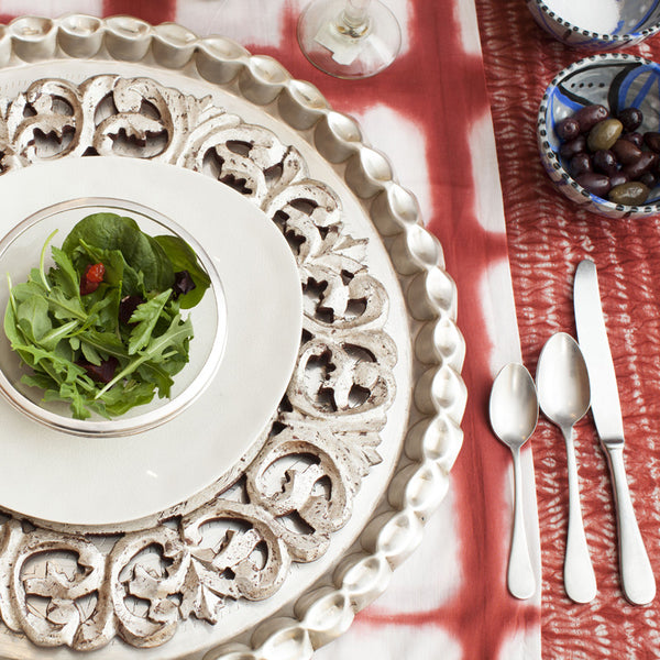 Global Views Grande Footed Bowl: The Storied Table