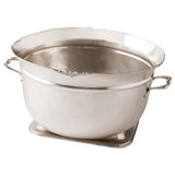 Umi Silver Metal Ice Bucket with Handles
