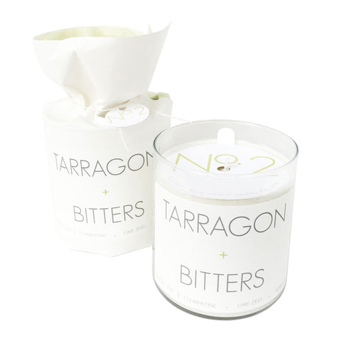 Tarragon + Bitters Soy Candle