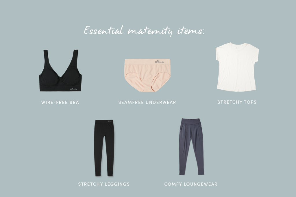 Essential maternity items