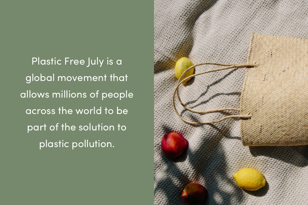 What is Plastic Free July