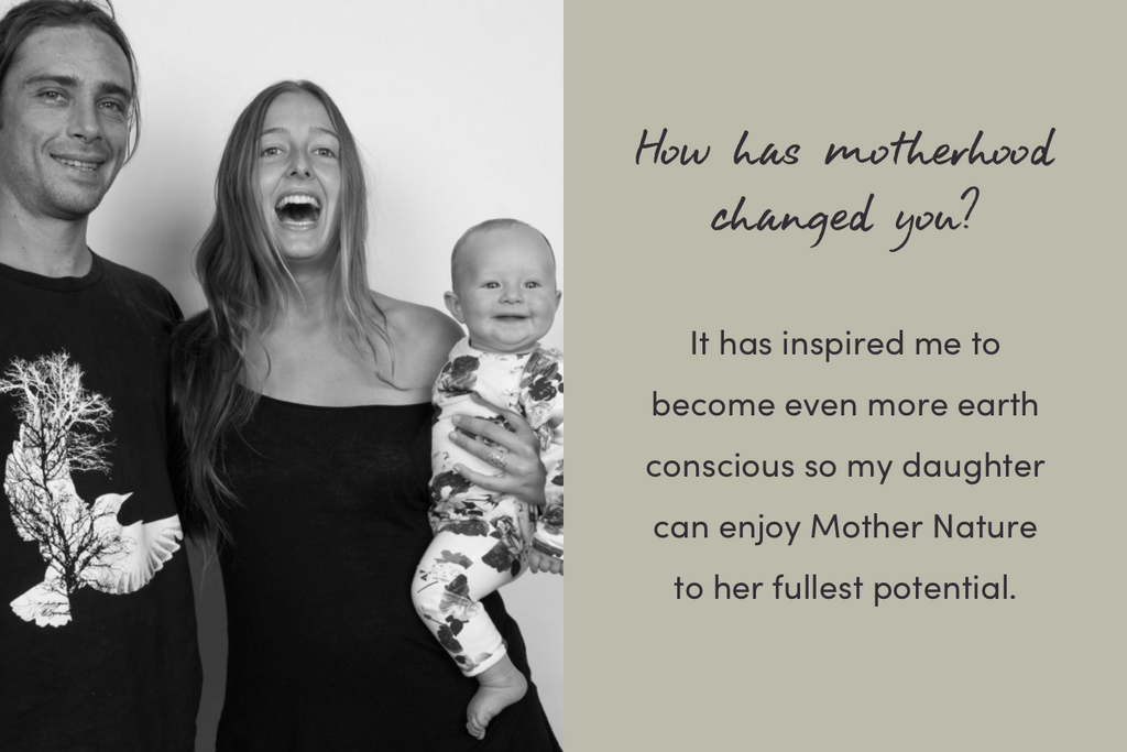 How has motherhood changed you?
