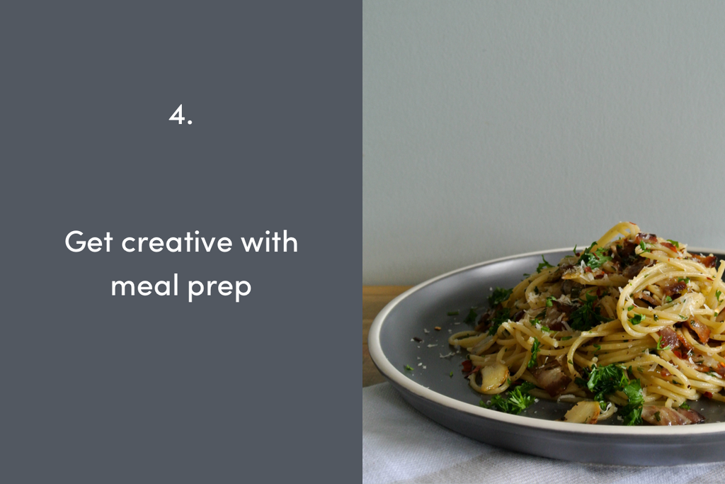Get creative with meal prep